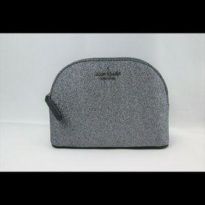 Kate Spade Small Dome Cosmetic Bag Glitter